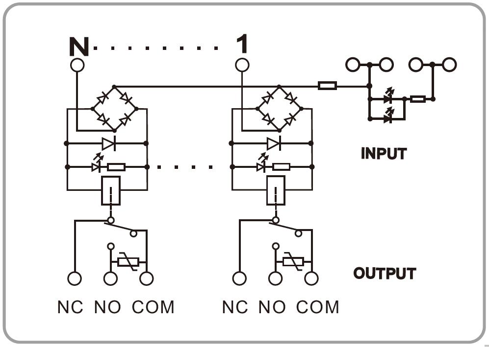 1NO1NC Omron Plug in Relay Module FY NG2R Wiring Diagram