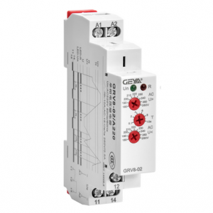 GRV8 02 A220 2 2 Single Phase Voltage Monitoring Relay