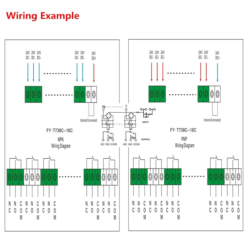 Interface Relay Module FY T738 16 Wiring Diagram