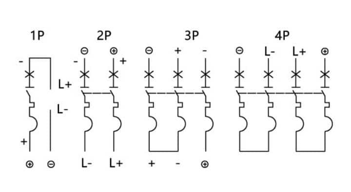Solar DC MCB Wiring Diagram