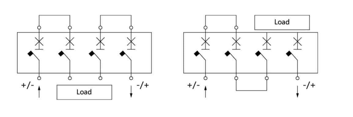 Solar DC MCCB Wiring Diagram