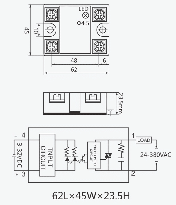 Solid State Relay(SSR)Wiring Diagram