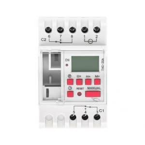 THC 20A 1 2C Digital timer switch