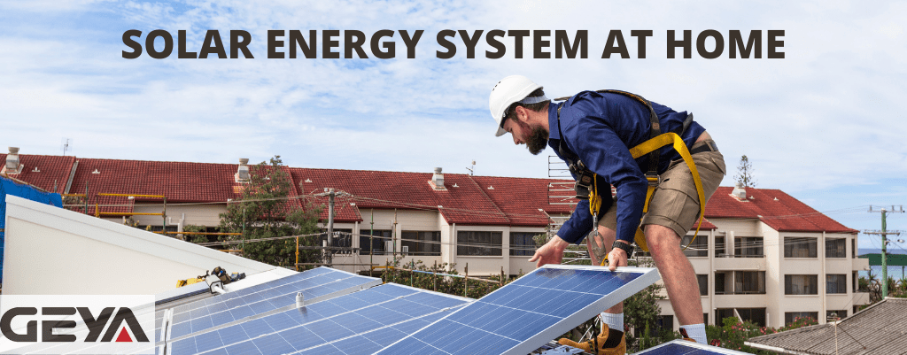 Solar Energy System at Home